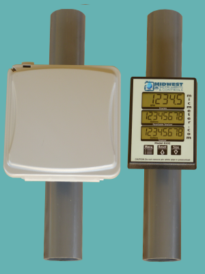 1.5″ Schedule 80 Pipe Mounted Meter