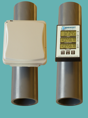 3″ Schedule 80 Pipe Mounted Flow Meter