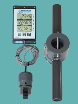 "1"" Schedule 80 Remote Display Flow Meter"