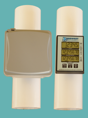 3″ Schedule 40 Pipe Mounted Flow Meter