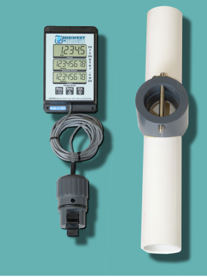 "1.5"" Schedule 40 Flow Meter with Remote Display"