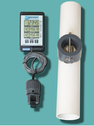 "2"" Schedule 40 Remote Display Flow Meter"